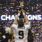 The New Orleans Saints are the unlikely winners of the Super Bowl XLIX in Miami.