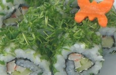 Green sushi? Only for St Patrick's Day