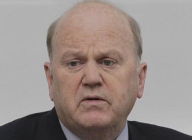 Finance Minister Michael Noonan.