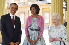 How do you do? The Obamas check in at Buckingham Palace