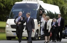 """Stop the bus, I wanna go…"": Ministers head for key meetings on the austerity coach"