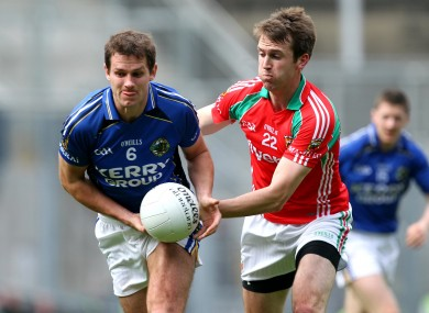 Eoin Brosnan (left) with Ronan McGarrity