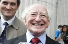 Bookie pays out on Michael D Higgins to be the next president