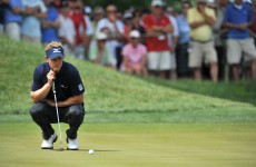 Luke Donald's stunning three-putt streak comes to an end