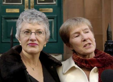 Katherine Zappone (left) and Ann-Louise Gilligan have vowed to continue their Supreme Court appeal against Ireland's recognition of same-sex marriages, despite Friday's defeat in the Supreme Court.
