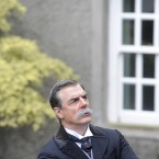 Actor Chris Noth, aka Mr Big in SATC, on set at Howth Castle today. Image: Laura Hutton/Photocall Ireland