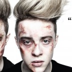 Previous editions of the ISPCC poster campaign have included the likes of Saoirse Ronan, Louis Walsh and Jedward (pictured).