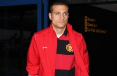 Confirmed: Vidic out for the rest of the season
