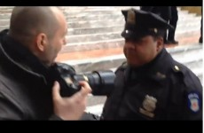 NYPD blocks journalist from covering Occupy protest