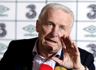 Giovanni Trapattoni: preparation.