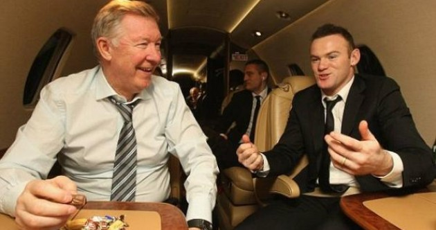 Rooney pledges allegiance to 'greatest manager' Fergie