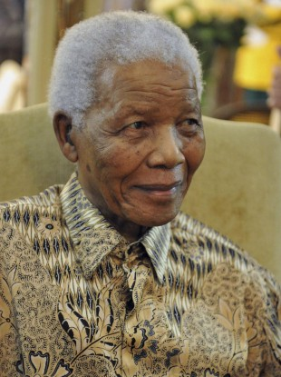 Mandela in May of last year