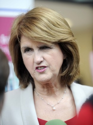 Minister for Social Protection Joan Burton