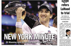 Start spreading the news: how America's papers saw last night's Super Bowl