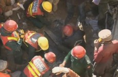 WATCH: 65-year-old woman pulled alive from rubble after factory blast