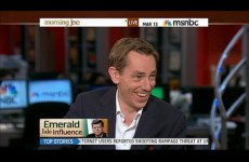 Tubs talks 'tabloid' stardom and JFK on MSNBC