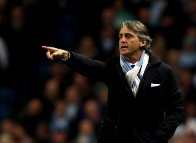 Roberto Mancini: we've made some mistakes.