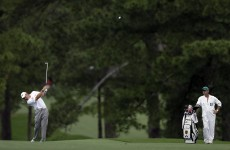 Westwood works way up leaderboard at Masters