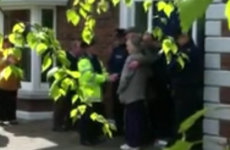 VIDEO: Couple evicted from Killiney home after Anglo repossession order