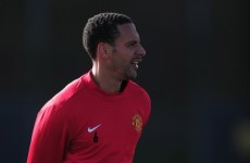 Fergie: Rio might not be ready for Euro 2012