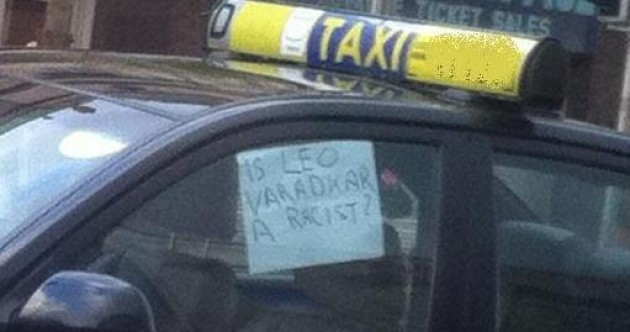 This is what one taxi driver thinks of the green light debate…