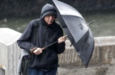 Umbrellas at the ready: Warning of heavy rain overnight and tomorrow