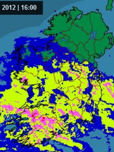 In pics: The graphs that showed the rain march across Ireland today