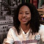 Neal is just the second African-American woman to make the US Olympic swim team, coming in fourth in the 100m freestyle at the trials to qualify for the 4x100 relay.