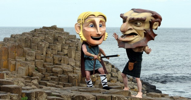 Giant Celtic Legends at Geological Wonder Pic of the Day