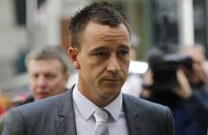 Cleared: John Terry found not guilty of racial abuse