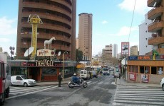 Five Irish nationals arrested in Benidorm