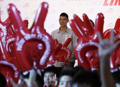 Jeremy Lin is in Hong Kong to launch a basketball charity and celebrate his birthday.