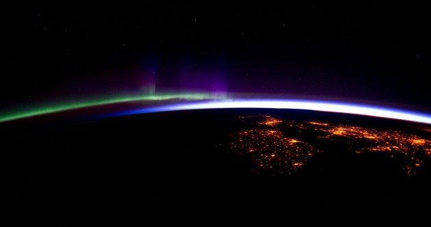 Check out this incredible photo of night-time Ireland from space