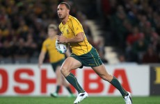Recalled: Cooper named in Wallabies team