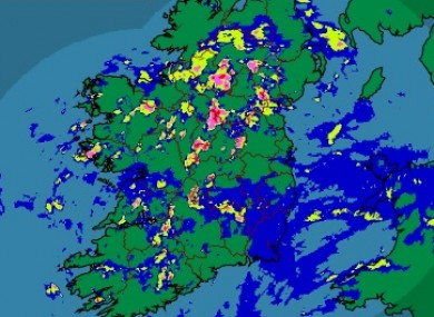Weatherwatch wet and windy days ahead