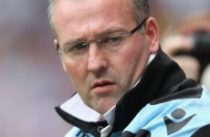 Lambert calls for calm Villa heads ahead of derby