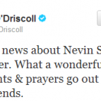 Brian O'Driscoll pays tribute to Ulster star Nevin Spence, who lost his life earlier this week.