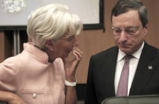 ECB, IMF 'in talks over €300bn