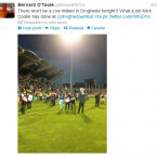Drogheda was hopping last night after their EA Sports Cup win over Shamrock Rovers in Tallaght.