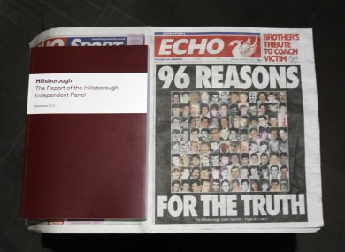 The Hillsborough tragedy was one of the main talking points in the media this week.