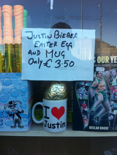 Sad Justin Bieber Easter Egg (yes, EASTER EGG) Pic Of The Day