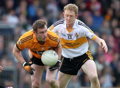 Austin Stacks' William Kirby and Colm Cooper of Dr.Crokes will be in opposition tomorrow.