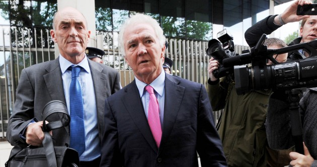 Video: Seán FitzPatrick leaves court after case sent for trial