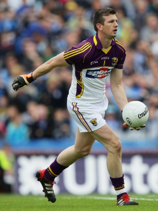 Anthony Masterson will be in action for Castletown in this weekend's Wexford county final.