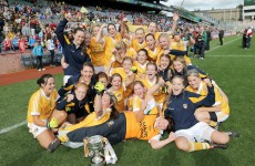 Antrim prove too strong for Louth in ladies junior final