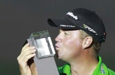 Hanson holds off McIlroy to win BMW Masters