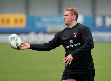 Chris Henry: will captain Ulster while Johann Muller is out injured.