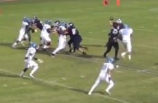 VIDEO: This bounce-pass trick play is the coolest American football clip you'll see today