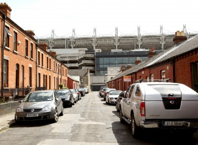 A resident's view of the Cusack Stand at Croke Park, where the current public service pay deal was negotiated and after which the deal is informally named.