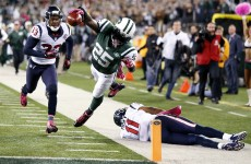 VIDEO: Jets score on 100-yard kick-off return, still lose to Texans